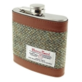 Placatka Harris Tweed 170ml - Oatmeal Fleck