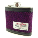Placatka Harris Tweed 170ml - Burgundy