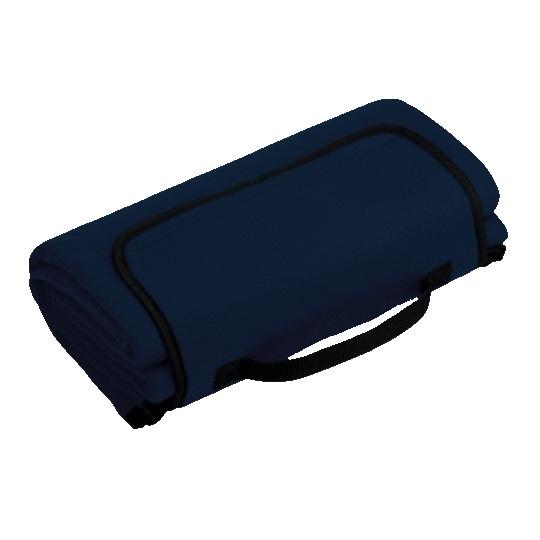 Rekl Pikniková deka PAT 140x130cm - modrá