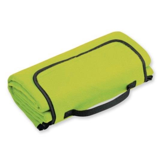 Rekl Pikniková deka PAT 140x130cm - zelená