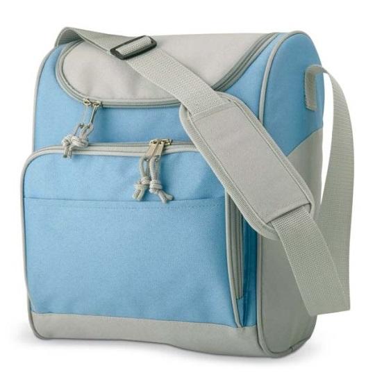 Rekl Chladící taška ZIPPER - světle modrá