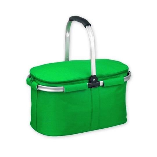 Skládací termo košík BASKIT - zelený