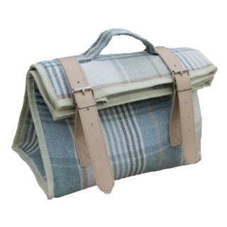 Chladicí taška / lunch bag CREAM TARTAN