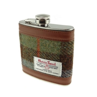 Placatka Harris Tweed 170ml - Gunn Tartan